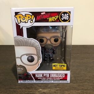 Funko Pop! Ant-Man The Wasp Hank Pym Unmasked #346